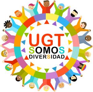 Cartel UGT Somos Diversidad